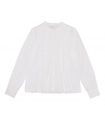 Skall Studio Heather Shirt, Optic White