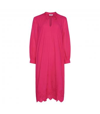 Tiffany Sibil Dress Soft Cotton, Pink Fucsia