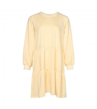 Noella Holly Sweat Dress, Light Yellow