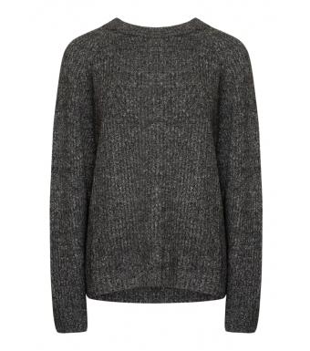 Tiffany Darling Blouse Knit, Black