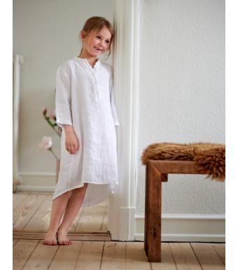 Tiffany 17690 Mini Long Shirt Linen, White