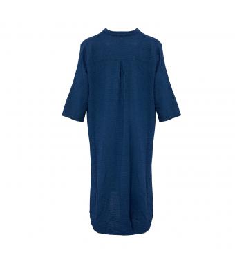 Tiffany 18970 Shirt Dress Double Cotton, Navy