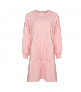 Noella Holly Sweat Dress, Light Rose