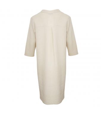 Tiffany 17690 Long Shirt Double Cotton, Sabbia