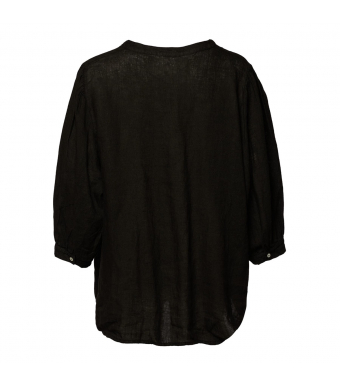 Tiffany Ebbi Top Linen, Black