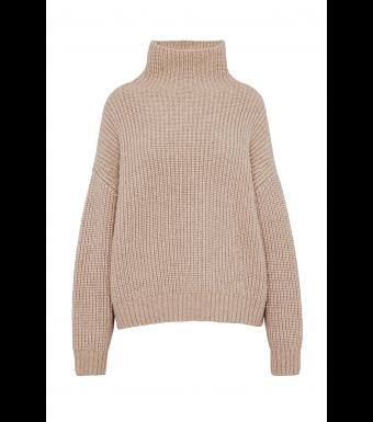 Anine Bing knit beige