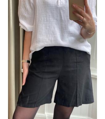 Tiffany Letzi Shorts Twill, Black
