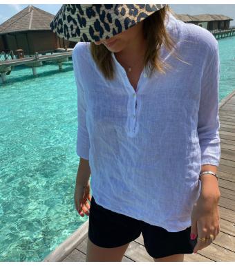Tiffany 17661 Shirt Linen, White