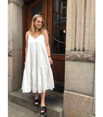 Anine Bing Averie Dress A-02-1129, White