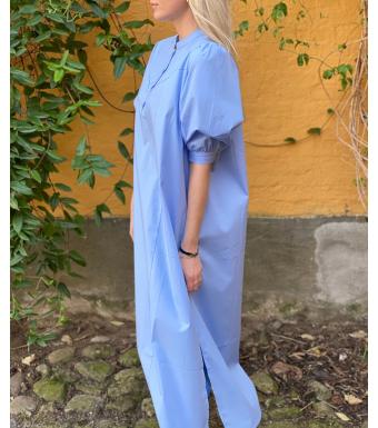 Tiffany Ebbi Dress Cotton Poplin, Light Blue