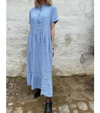 Tiffany Lang Hørkjole 191613 Epsi Hvid/Little Boy Blue