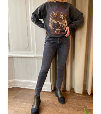 Anine Bing Jagger Jeans A-06-0001-049, Ash Grey