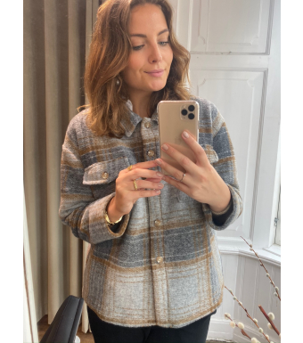 Tiffany By3278 Jacket Wool, Brown/grey