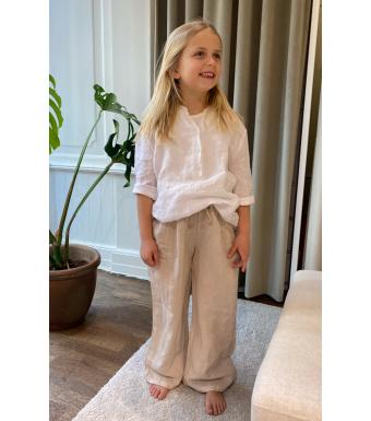 Tiffany 18870 Mini Pants Linen, Light Beige