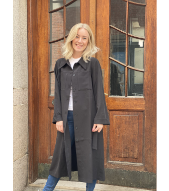 Tiffany Eleanor Coat, Sort
