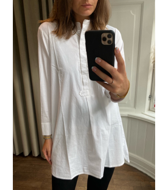 Tiffany Ella Shirt Cotton, White