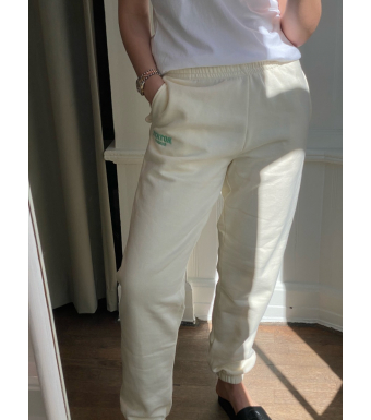 Rotate Sunday Mimi Sweatpants Small Print, Winter White