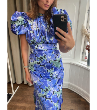Rotate Dawn Dress, Baja Blue Comb.