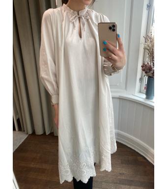 Tiffany Sibil Dress Soft Cotton, Beige