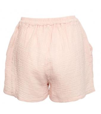 Tiffany Luna Shorts Double Cotton, Rose