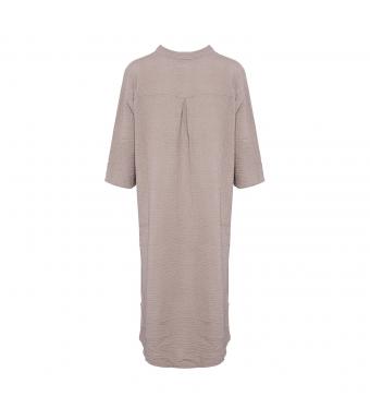 Tiffany 18970 Shirt Dress Double Cotton, Nougat