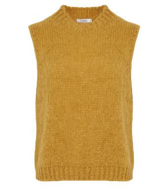 Noella Kala Vest Wool, Ocker
