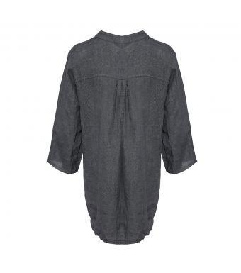 Tiffany 17661 Shirt Linen, Dark Grey