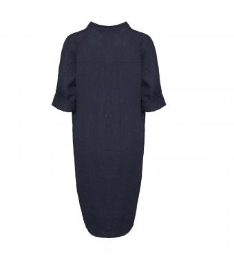 Tiffany 17690 Long Shirt Linen, Navy
