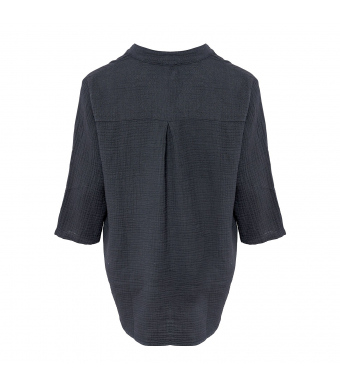 Tiffany 17661 Shirt Double Cotton, Dark Grey