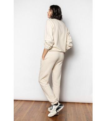 Ragdoll LA Jogger Pants, Vanilla