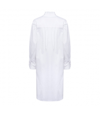 Tiffany Naneth Shirt Dress, White