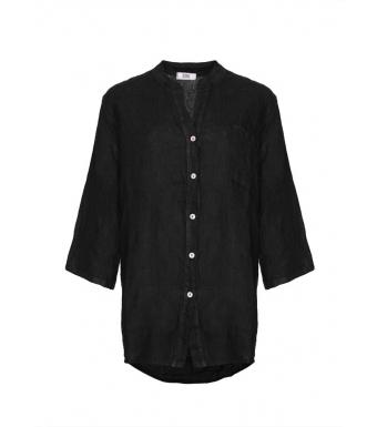 Tiffany 18973 Shirt Linen, Black