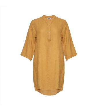 Tiffany 17690 Long Shirt Linen, Senape