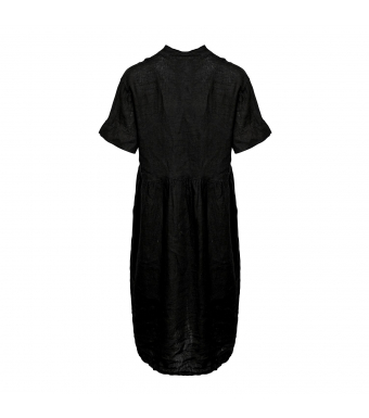 Tiffany 191391 Dress Linen, Black