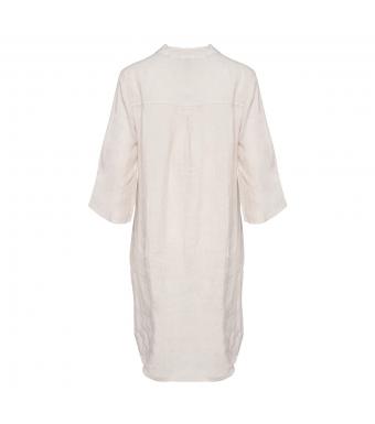 Tiffany 17690 Long Shirt Linen, Beige