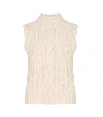 Tiffany Lucca Slipover Knit, Off White