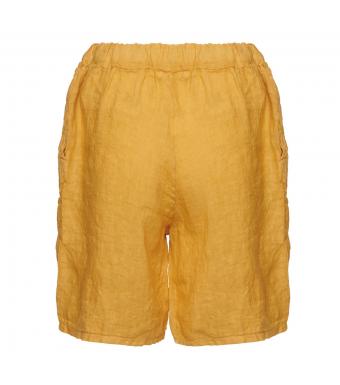Tiffany 181017 Shorts Linen, Senape Yellow