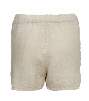 Tiffany 17691 Shorts Linen, Light Beige