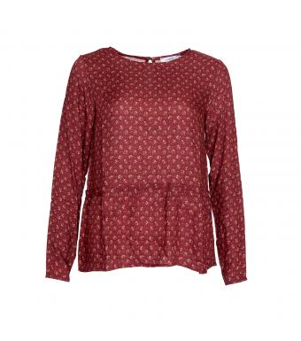 Front rød bluse Noella