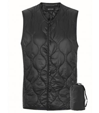 Meotine Paddy Vest, Black