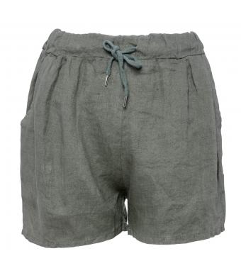 Tiffany 17691 Shorts Linen, Army