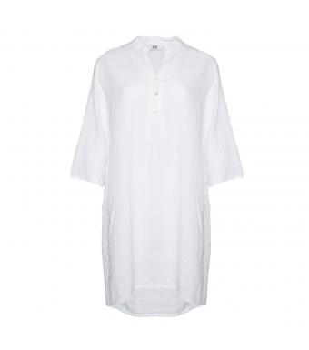 Tiffany 17690 Long Shirt Linen, White