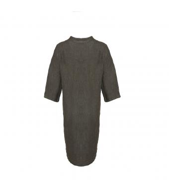 Tiffany 17690 Long Shirt Linen, Dark Grey