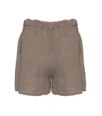 Tiffany 17691 Shorts Linen, Nougat