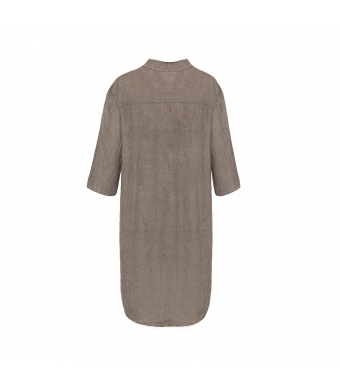 Tiffany 17690 Long Shirt Linen, Nougat