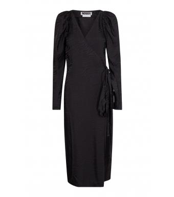 Rotate Bridget Mid Dress Rt354, Black