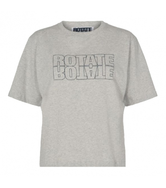 Rotate Aster Tee Rt443 - Rt445, Grey Melange