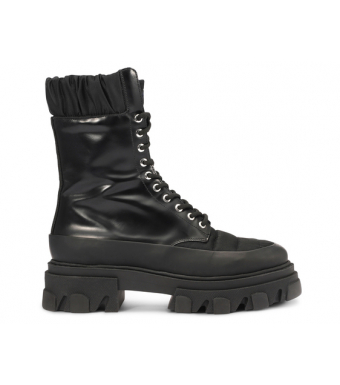Ganni S1409 Boot Brush Off & Nylon, 099 Black