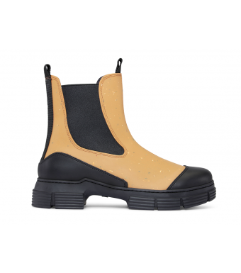 Ganni S1466 City Boot Recycled Rubber, 194 Chipmunk