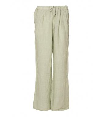Tiffany 18870 Linen Pants, Light Army